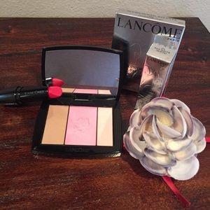 Lancôme lipstick and blush set